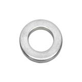 Metric Din 125A Flat Washer,  140 HV, Zinc